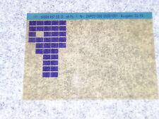Microfich Ersatzteilkatalog Ersatzteilliste Piaggio Sfera 50 III RST ZAPC01 1995