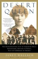 DESERT QUEEN Life of Gertrude Bell by Janet Wallach paperback book FREE SHIPPING