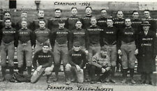 FRANKFORD YELLOW JACKETS - 1926 NFL Champions, 8x10 B&W Team Photo