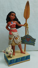 Disney enesco personaje jim Shore 4056754 Moana vaiana find your own way