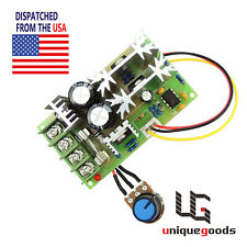 10V-60V Pulse Width DC Motor Speed Control PWM TV Controller Switch Regulator