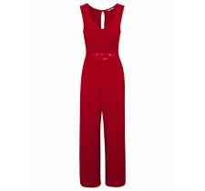 George Red Colour Jumpsuit Size UK18/EUR46 BNWT