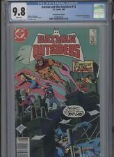 BATMAN AND THE OUTSIDERS #13 MT 9.8 CGC HIGHEST 1 OF 1 CANADIAN PRICE VARIANT
