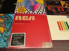 THE STROKES ISSUES 2001/13 IS THIS IT 1ST IMPRESSIONS ON FIRE ANGLES EP 6 LP SET