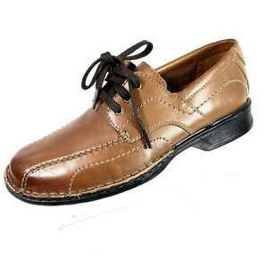 Collection by Clarks Men's Size 8 M Brown Leather Oxford Shoes Lace Up New