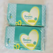2 Pampers Registry Gift Includes Pack Of Baby Wipes, Changing Pad, NB Diaper