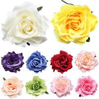 Mariée rose fleur cheveux clip épingle de mariage demoiselle d'honneur
