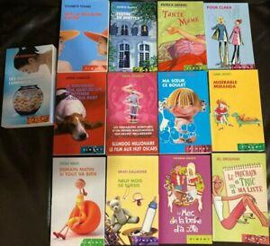 Lot de 13 Livres de Poche - Edition Piment