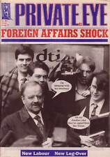 PRIVATE EYE 930 - 8 Aug 1997 - Robin Cook - FOREIGN AFFAIRS SHOCK
