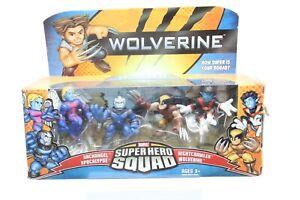 Marvel Super Hero Squad Apocalypse, Archangel, Night Crawler, Wolverine New