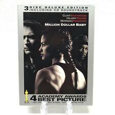 Million Dollar Baby (DVD, 2005, 3-Disc Set, Deluxe Edition, Widescreen)