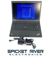"Lenovo ThinkPad T440S 14"" i5-4300U 1.90GHz 500GB HDD 4GB RAM Win10 READ #58623"