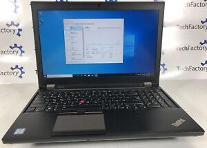 Lenovo ThinkPad P50 Mobile Workstation Laptop | Xeon Quad 2.8GHz | Quadro | 64GB