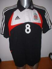 Liverpool Adidas Training Adult L Polo Football Soccer Gerrard Shirt Jersey Top