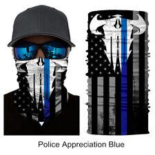New Punisher Balaclava Gaiter Bandana Police Appreciation Face Shield Motorcycle
