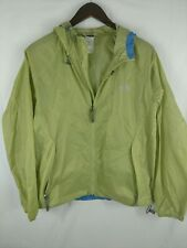 The North Face Nylon Light Hoodie Women's Rain Coat Green Sz S