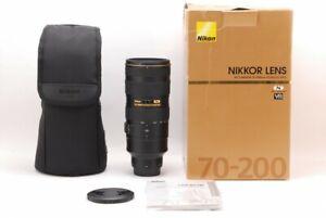Nikon Nikkor AF-S 70-200mm  F2.8G ED VR Ⅱ,From Japan,Excell+++ ,TK1189