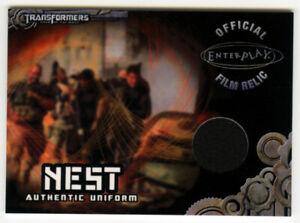Breygent 2013 Transformers Optimum TC3 NEST Uniform Relic Card - Chapman