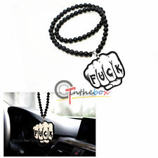 1pc Funny Fist Style Hanging Ornament Pendant for Car Rearview Mirror Universal