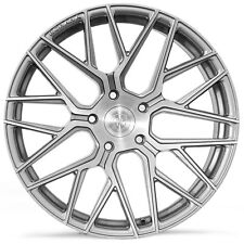 "20"" Rohana RFX10 Brushed Titanium Concave Wheels for Mercedes"