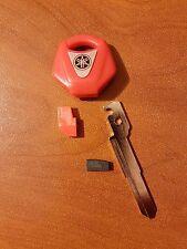 N°1 chiave vergine PER YAMAHA R1- R6- FZ1- FZ6-FZR-FZ8- TMAX- XT660 con chip