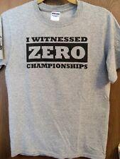 "RARE! Rude Dawgs ""I Witnessed Zero Championships"" SMALL T-Shirt (LeBron James)"