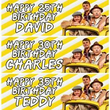 2 Personalised Only Fools And Horses Birthday Banners Party Decoration Posters