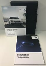 BMW 6 SERIES GRAN COUPE OWNERS PACK / HANDBOOK / MANUAL WITH WALLET 15~18 (2016)