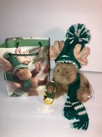 BOYDS Lil' Chrismoose Lil' Sumptin' 3-piece Gift Set - Plush - Ornament - Bag