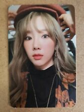 TAEYEON #3 Authentic Official PHOTOCARD PURPOSE The 2nd Album SNSD 태연