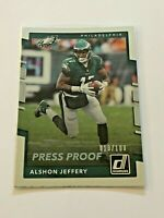 2017 Donruss Football Silver Press Proof - Alshon Jeffery - Philadelphia Eagles