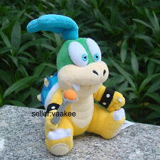 "Larry Koopa 6"" Super Mario Bros Run Plush Toy Bowser Koopalings Nintendo Doll"