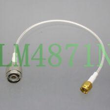 "TNC Male to SMA Plug for CB Ham Radio Antenna RG316 8"" RF Coaxial Teflon Cable"