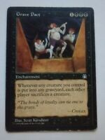 MTG Magic the Gathering English Grave Pact 1998 Stronghold MP