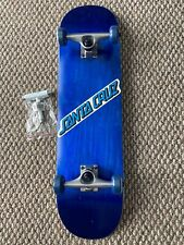 "Complete Skateboard 8-25""x31.85"" Skate Park Ready OG Santa Cruz Decal T Tool New"