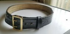 Safariland Mdl 87 Police Security Duty Belt 38 Mdl87 3895 Hi Gloss With Buckle
