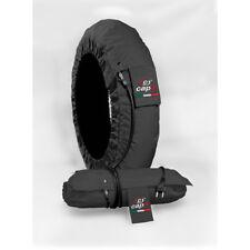 Capit Tyre Warmers Set Suprema Vison Black Front 120-17 Rear 205-16/17 M/XL