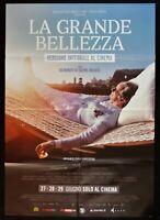 Poster Die Grande Beauty Paolo Downvü Toni Servillo Carlo Verdone M258