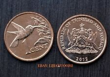 Trinidad and Tobago 1 Cent  km29 UNC COINS CURRENCY > Hummingbird