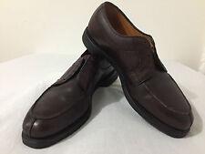 Allen Edmonds Stockbridge Casual Lace-Up Derby Shoes Burgundy Leather Size 9.5C