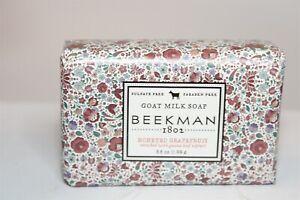 Beekman 1802 Goat Milk Soap Honeyed Grapefruit 3.5 oz. NEW USA