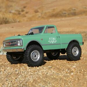 Axial 1/24 SCX24 1967 Chevrolet C10 4WD Truck Brushed RTR Green AXI00001T1