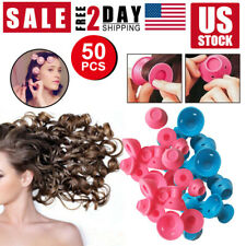 Magic Silicone  Hair Curlers Rollers No Clip Formers Curling DIY tool
