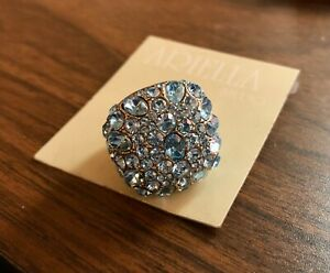 ARIELLA COLLECTION 130945 Boxed Oval Cocktail Ring