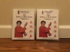 The Wing Chun Way (2) Dvd Set kung fu shil lim tao combat self defense chi sao