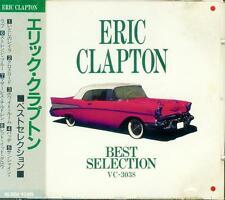 ERIC CLAPTON BEST SELECTION JAPAN CD VC-3038 OBI RARE