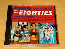 NUMBER ONE HITS OF THE EIGHTIES CD 80S PSEUDO ECHO THE VAPORS AUSTRALIAN CRAWL.