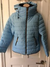 Women's Jacket Size M Prettylittlething Blue Puffa New With Tags