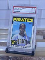 1986 Topps Traded Barry Bonds  #11T PSA 7