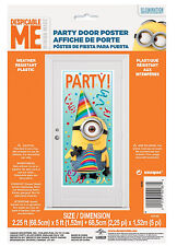 Despicable Me Minion Door Decorations Happy Birthday Party Supplies ~ 5ft